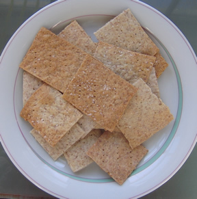 Rye Crackers from Recipephany