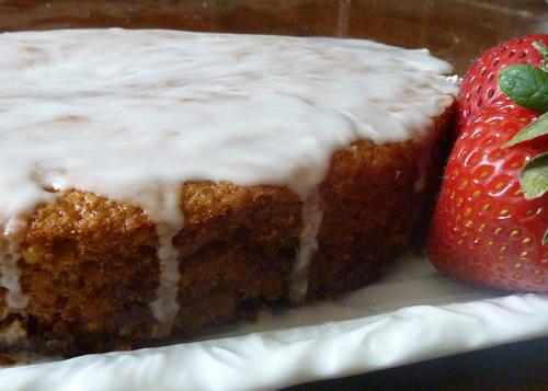 Orange Cake-Pan Cake