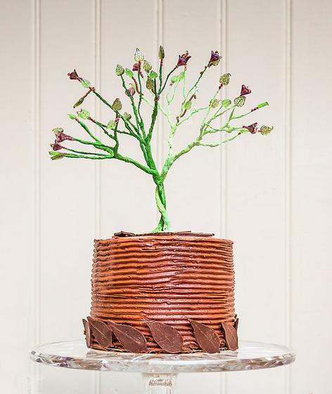 Black Magic Wedding Cake
